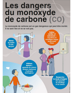 Avec l'hiver, attention danger au monoxyde de carbone !